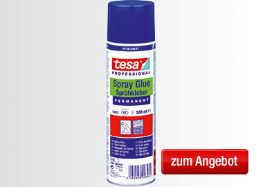 tesa® Sprühkleber PERMANENT 500ml